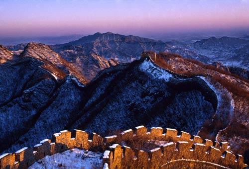 Cina = La Grande Muraglia